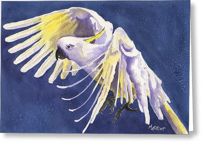 Flight Of Fancy Greeting Card by Marsha Elliott