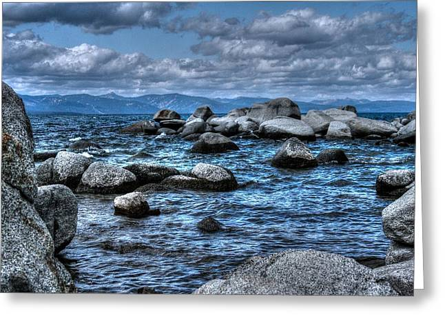California Beach Greeting Cards - Floating Greeting Card by DayDream Images by Nancy Tsuzaki