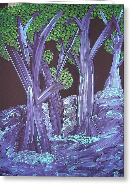 Joshua Redman Greeting Cards - Flooded Forest Greeting Card by Joshua Redman