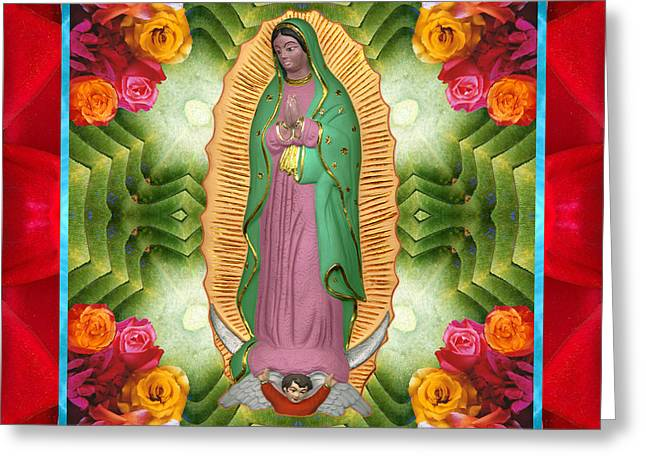 Flora Madre Greeting Card by Bell And Todd