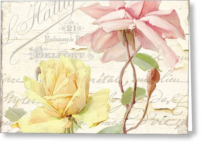 Florabella Iv Greeting Card by Mindy Sommers