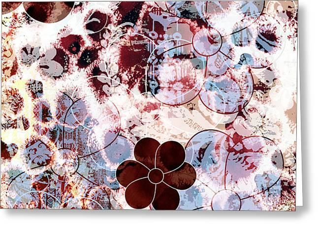 Floral Essence Greeting Card by Frank Tschakert