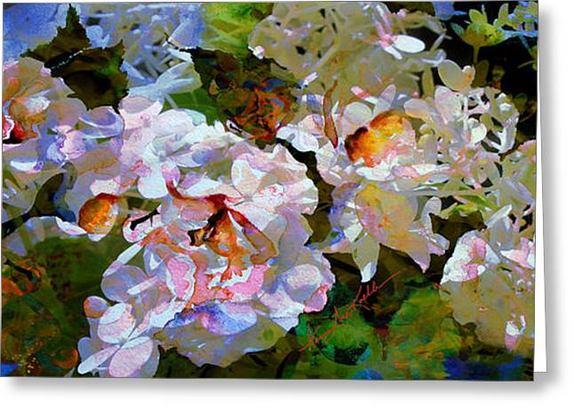 Floral Fiction 2 Greeting Card by Hanne Lore Koehler