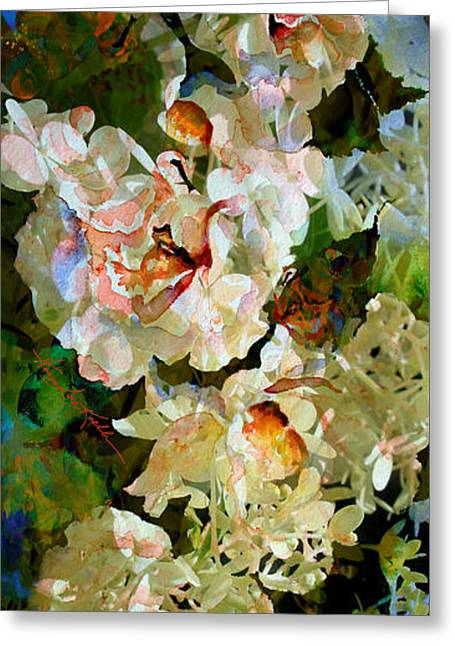 Floral Fiction Greeting Card by Hanne Lore Koehler