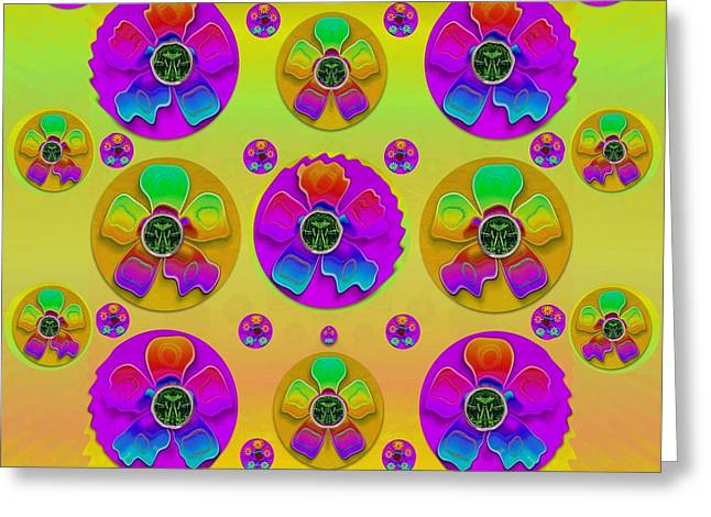 Floral Love And Why Not Greeting Card by Pepita Selles
