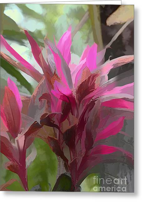 Artistic Landscape Photos Greeting Cards - Floral Pastel Greeting Card by Tom Prendergast