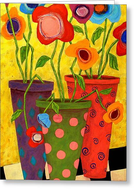 Floralicious Greeting Card by John Blake