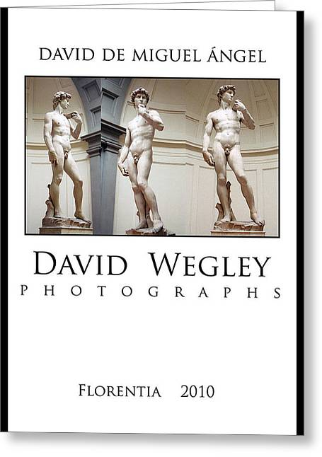 Florence Pyrography Greeting Cards - Florence Greeting Card by David  Wegley
