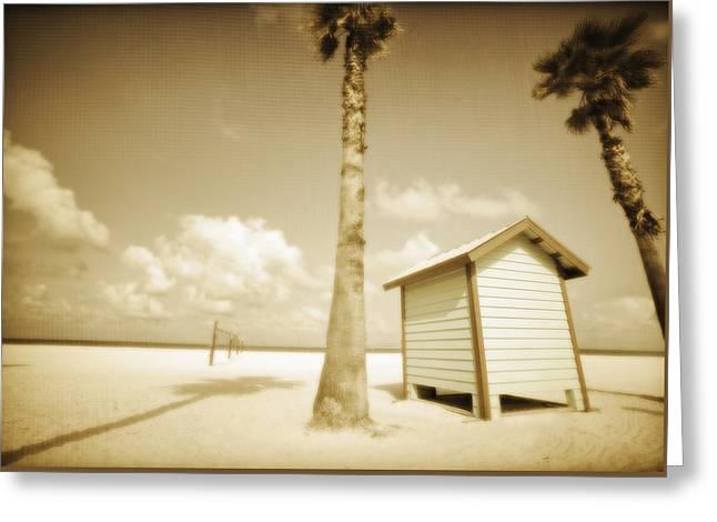 Dressing Room Greeting Cards - Florida Beach 4 Greeting Card by Skip Nall