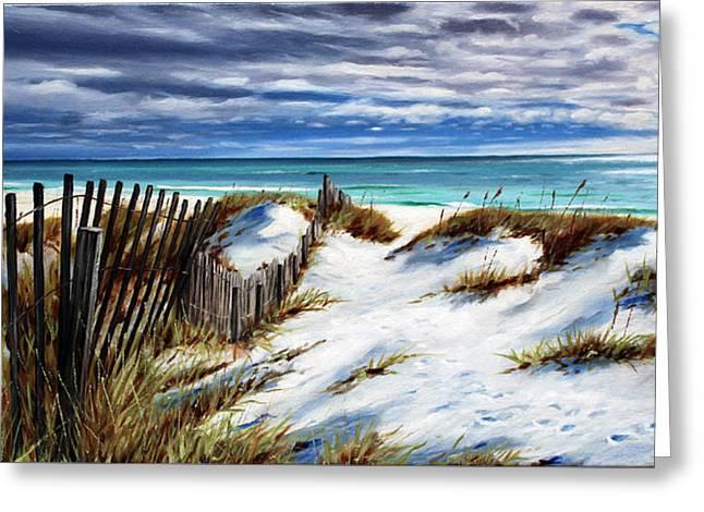 Panama City Beach Greeting Cards - Florida Beach Greeting Card by Rick McKinney