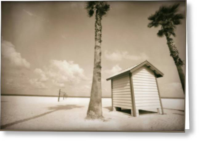 Florida Beach Greeting Card by Skip Nall