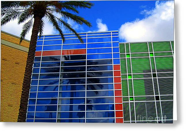 Olive Green Greeting Cards - Florida Colors Greeting Card by Susanne Van Hulst