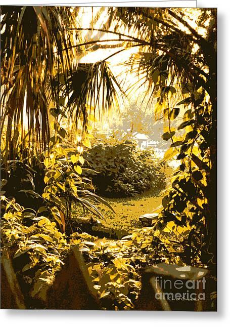 Florida Pond Greeting Cards - Florida Dream Greeting Card by Carol Groenen