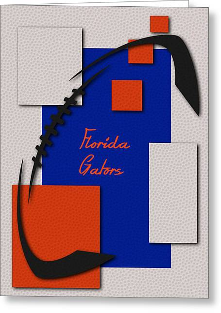 Tebow Greeting Cards - Florida Gators Art Greeting Card by Joe Hamilton