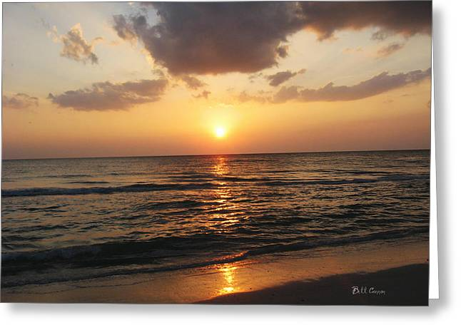 St. Petersburg Florida Greeting Cards - Florida Has the Best Sunsets Greeting Card by Bill Cannon