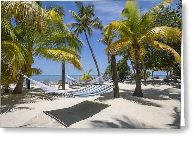 Beach Scenery Greeting Cards - FLORIDA KEYS Heavenly Place Greeting Card by Melanie Viola