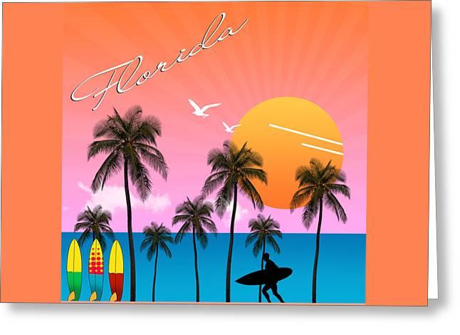 Florida  Greeting Card by Mark Ashkenazi