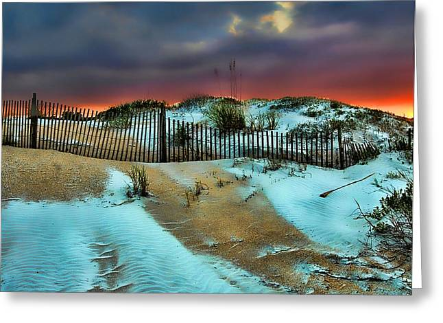 Flagler Greeting Cards - Florida Mountain Greeting Card by Joetta West