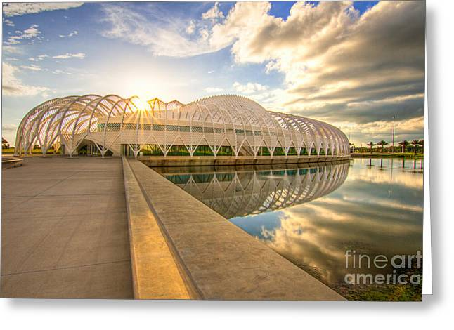 Auburndale Greeting Cards - Florida Polytechnic University Greeting Card by Karl Greeson