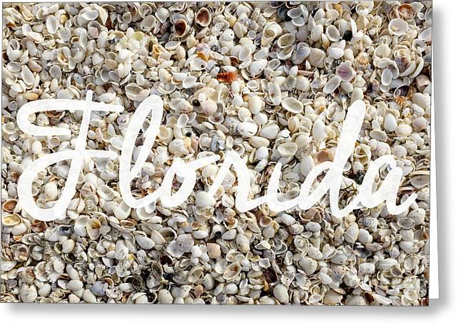 Assorted Greeting Cards - Florida Seashells Greeting Card by Edward Fielding