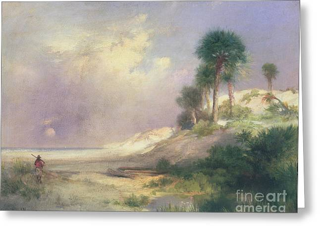 Florida Landscape Greeting Cards - Florida Greeting Card by Thomas Moran