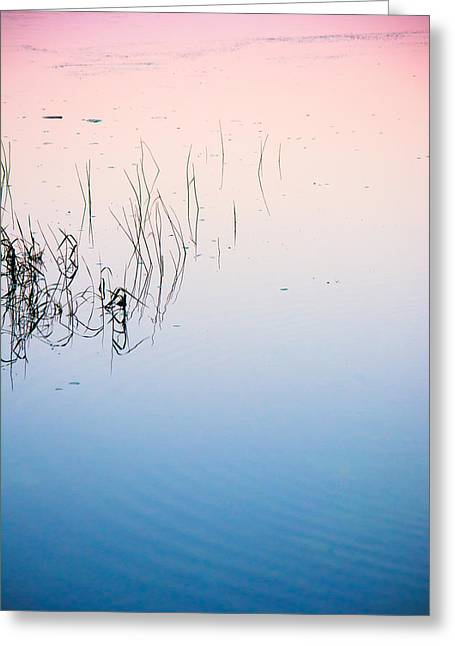 Sunset Abstract Photographs Greeting Cards - Florida Tranquility Greeting Card by Parker Cunningham