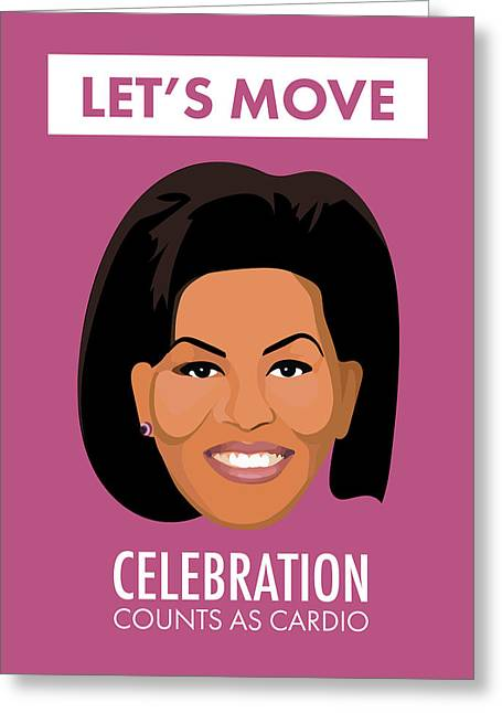 Flotus Celebration Greeting Card by Lauren Amelia Hughes