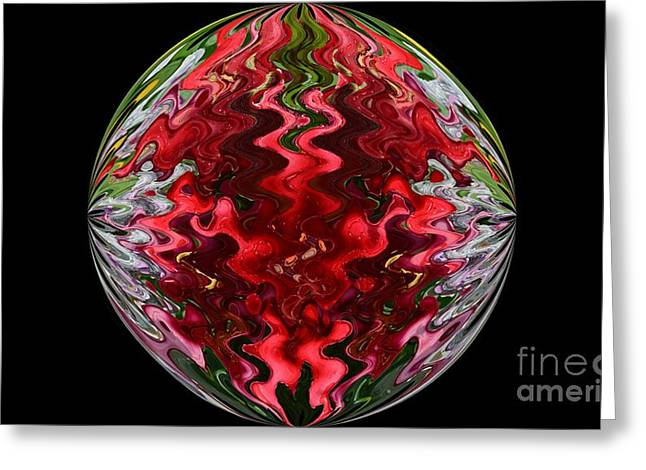 Flower Bulb Two Greeting Card by Beverly Shelby