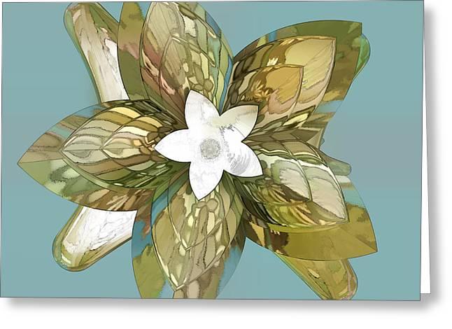 Incendia Greeting Cards - Flower Fantasy Greeting Card by Deborah Benoit