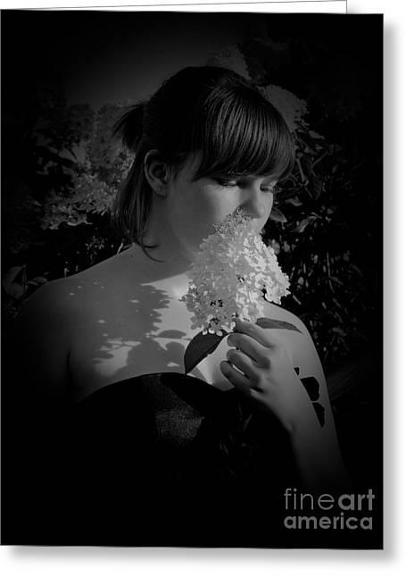 Flower Greeting Card by Tara Lynn