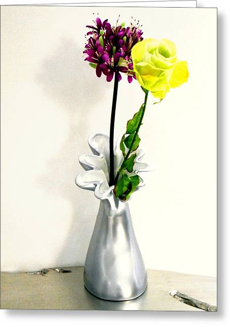 Interior Still Life Greeting Cards - Flowers Greeting Card by Dietmar Scherf