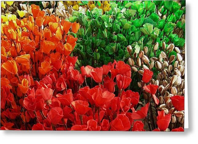 Flowers Greeting Card by Mohammed Nasir