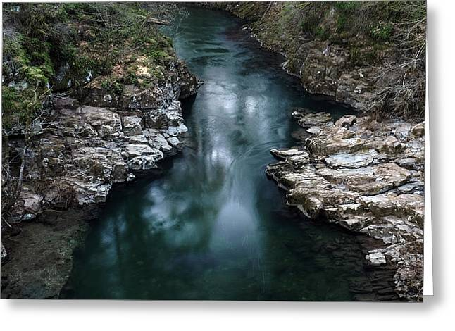 Flowing Spirit Greeting Card by Kevin Felts