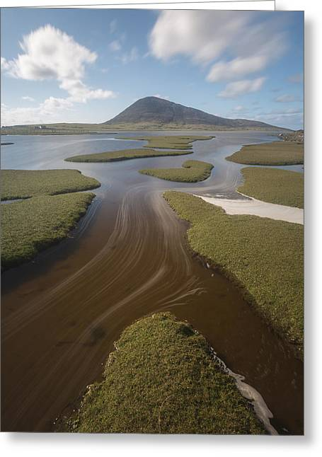 Visitscotland Greeting Cards - Flowing through the Saltflats Greeting Card by Rich Dyson
