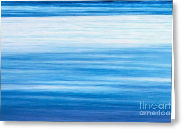 Abstracts Art Photographs Greeting Cards - Fluid Motion Greeting Card by Az Jackson