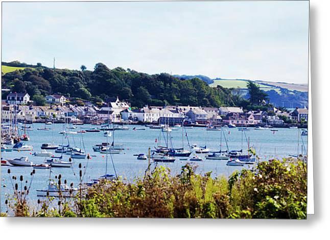 Flushing Cornwall Greeting Card by Terri Waters