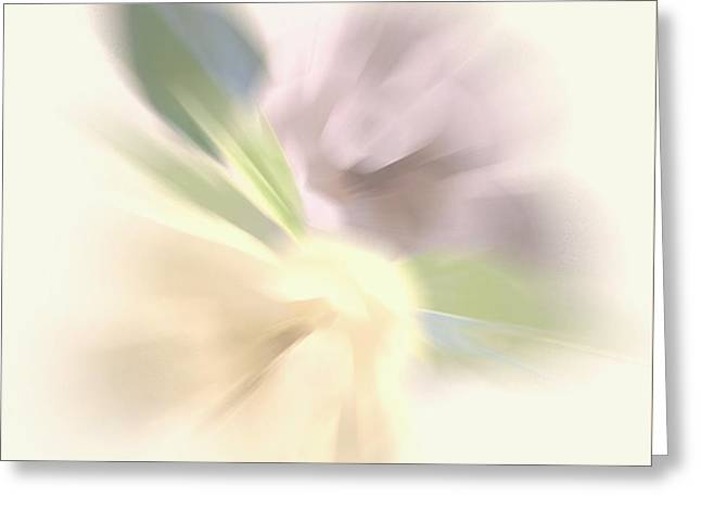 Abstract Digital Photographs Greeting Cards - Flutter of color Greeting Card by Wayne Marsh