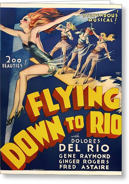 Dolores Greeting Cards - Flying Down To Rio  Greeting Card by Mountain Dreams
