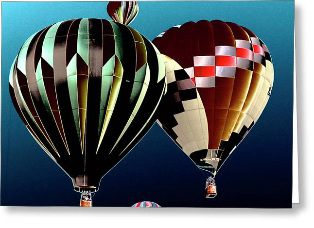 Rally Greeting Cards - Flying High Greeting Card by David Patterson