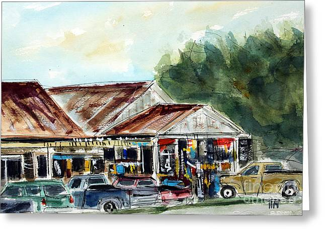 Leipers Fork Greeting Cards - Flys Place Greeting Card by Tim Ross