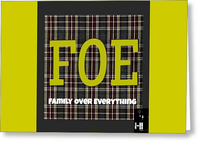 Miami Tapestries - Textiles Greeting Cards - Foe Greeting Card by HI Level