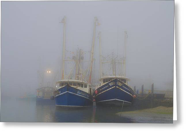 Bill Cannon Photography Greeting Cards - Fogged in - Cape May New Jersey Greeting Card by Bill Cannon