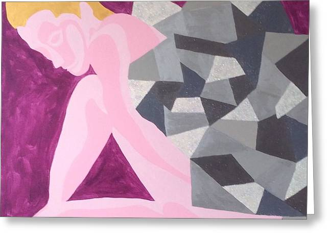 Divorce Greeting Cards - Foiled Greeting Card by Erika Chamberlin