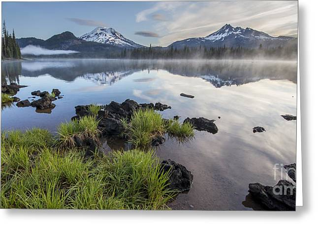 Foliage Along Sparks Lake Greeting Card by Twenty Two North Photography