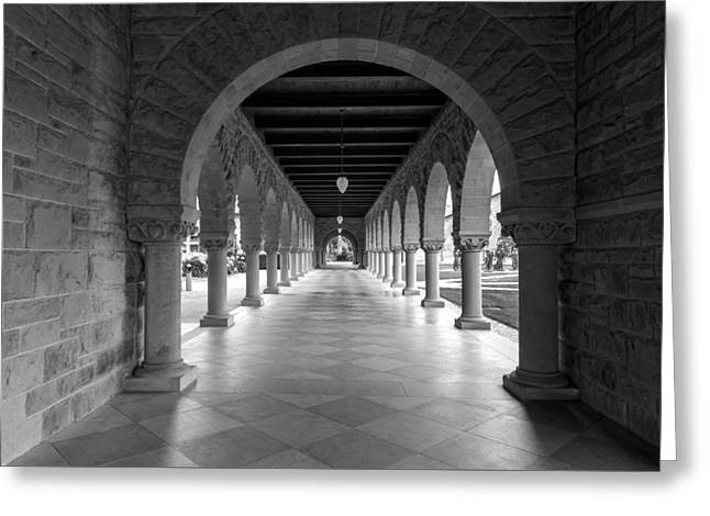 Downtown San Francisco Greeting Cards - Follow the Hallway Greeting Card by Jonathan Nguyen
