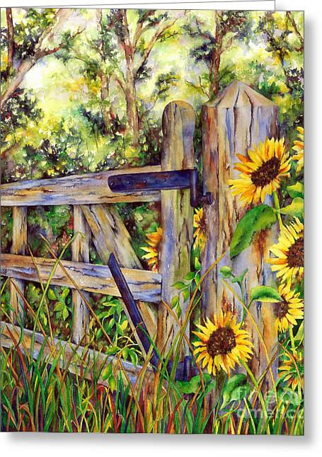 Follow The Sun Greeting Card by Winona Steunenberg