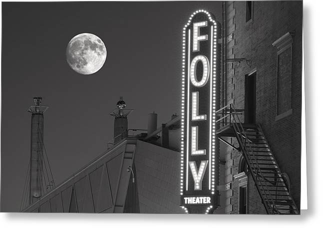 Folly Theatre Kansas City Greeting Card by Don Spenner