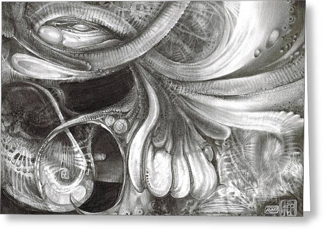 Fomorii Pod Greeting Card by Otto Rapp