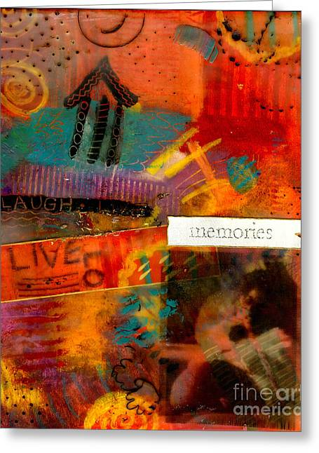 Fond Memories Greeting Card by Angela L Walker