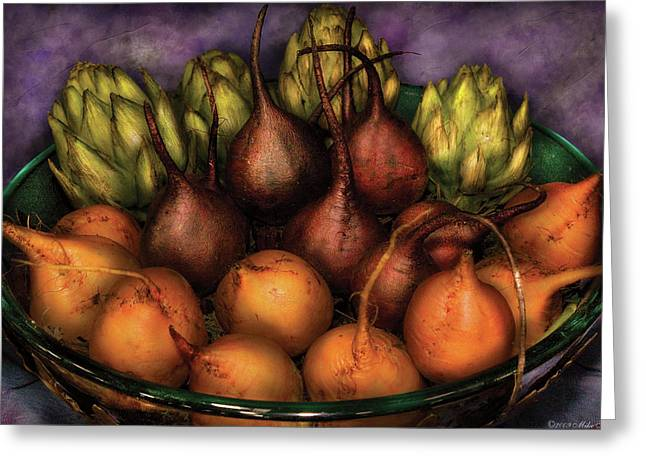Jersey Fresh Greeting Cards - Food - The Harvest Greeting Card by Mike Savad
